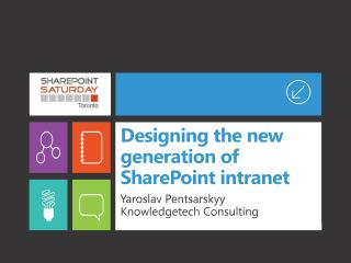 Designing the new generation of SharePoint intranet
