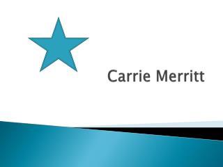 Carrie Merritt