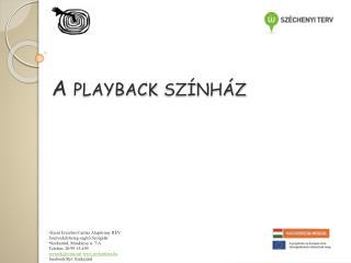 A playback színház