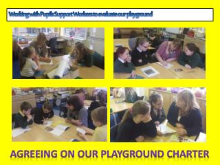 Agreeing on our playground charter