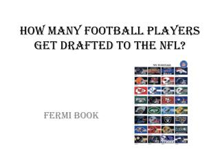 How many football players  get drafted to  the  NFL?