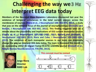 Challenging the  way we interpret EEG data today