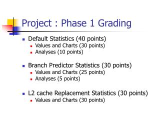 Project : Phase 1 Grading