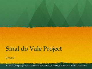 Sinal  do Vale Project