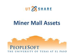 Miner Mall Assets