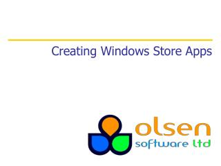 Creating Windows Store Apps
