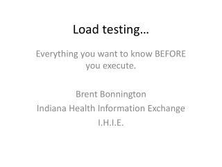 Load testing…