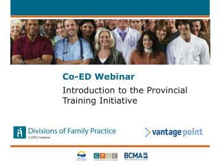 Co-ED  Webinar