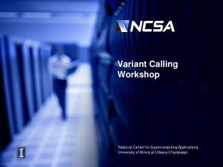 Variant Calling Workshop
