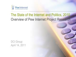 About the Pew Internet & American Life Project