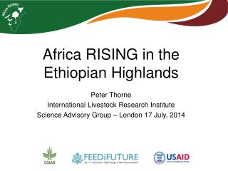 Africa RISING in the Ethiopian Highlands