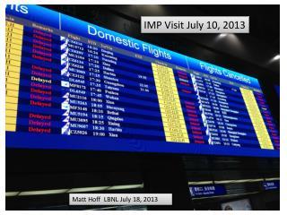 IMP Visit July 10, 2013