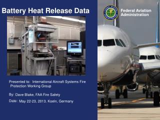 Battery Heat Release Data