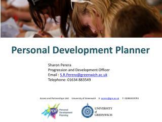 Personal Development Planner