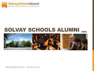 Solvay Schools Alumni  ASBL