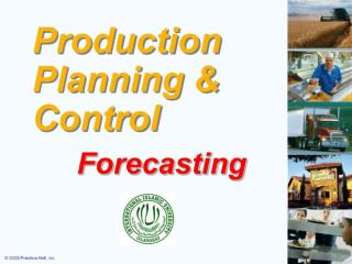 Production Planing Lecture 1