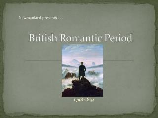 British Romantic Period