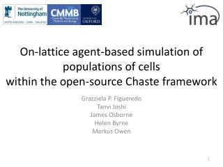 On-lattice agent-based simulation of populations of cells within the open-source Chaste framework