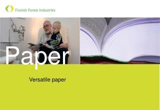 Versatile paper