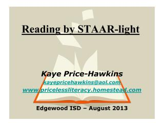 Reading by STAAR-light