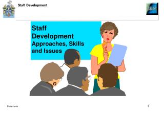 Training, Education and Development