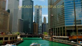 CHICAGO THE BEAUTIFUL CITY