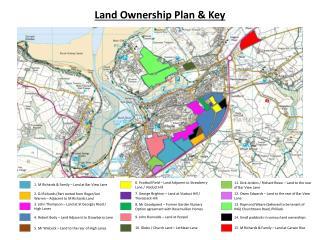 Land Ownership Plan & Key
