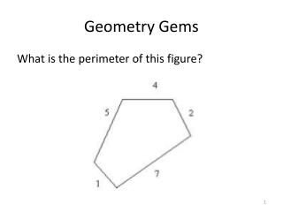 Geometry Gems