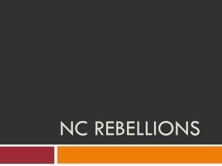 NC Rebellions