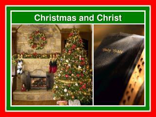 Christmas and Christ