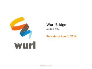 Wurl  Bridge April  28,  2014 Beta starts June 1, 2014