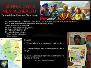 Technology  & Mental  Health