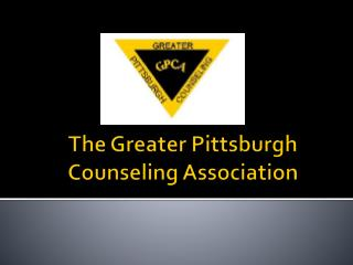 The Greater Pittsburgh Counseling Association