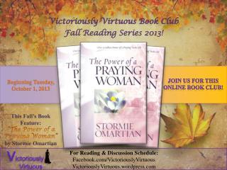 Fall Reading Series 2013!