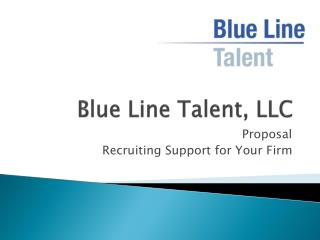 Blue Line Talent, LLC