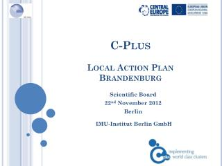 C-Plus  Local Action Plan  Brandenburg