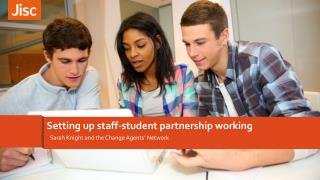 Setting up staff-student partnership working