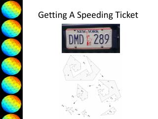 Getting A Speeding Ticket