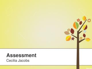 Assessment Cecilia Jacobs