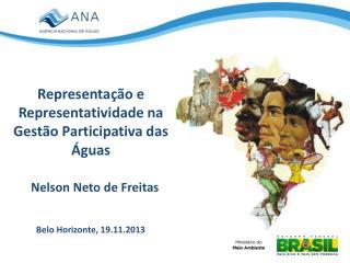 Representação e Representatividade na Gestão Participativa  das  Águas
