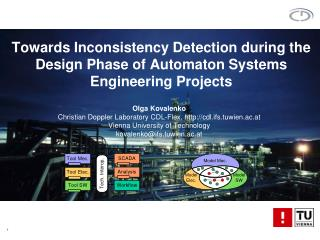 Towards Inconsistency Detection during the Design Phase of Automaton Systems Engineering Projects