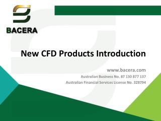 New CFD Products Introduction