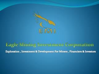 Eagle Mining Investment Corporation