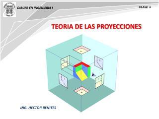 TEORIA DE LAS PROYECCIONES
