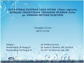 Vianggara  Surya 0810710109
