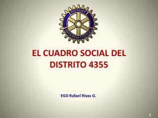 EL CUADRO SOCIAL DEL DISTRITO 4355