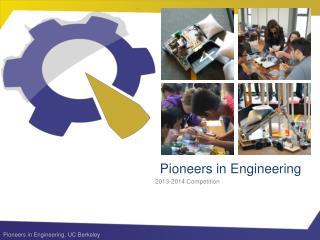 Pioneers in Engineering
