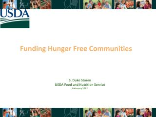 Funding Hunger Free Communities
