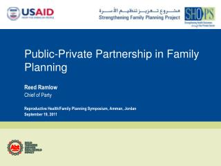 Public-Private Partnership in Family Planning