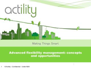 Advanced flexibility management: concepts and opportunities